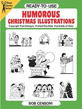 Ready-To-Use Humorous Christmas Illustrations 9780486271521