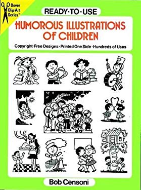Ready-To-Use Humorous Illustrations of Children 9780486262475