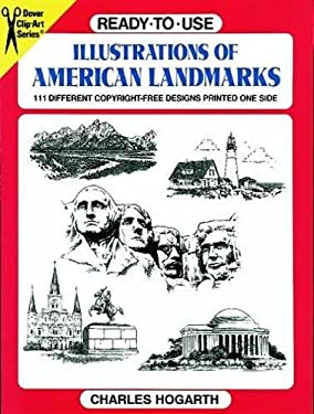 Ready-To-Use Illustrations of American Landmarks 9780486298566