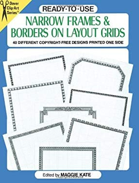 Ready-To-Use Narrow Frames and Borders 9780486275758