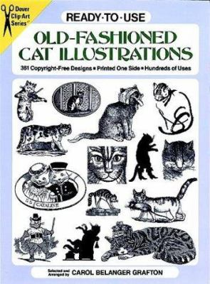 Ready-To-Use Old-Fashioned Cat Illustrations 9780486273174