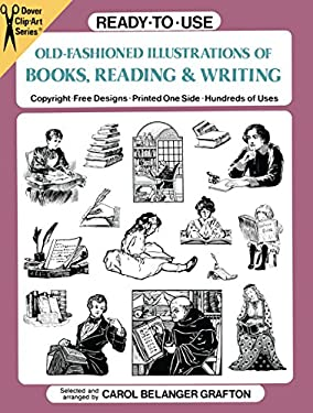 Ready-To-Use Old-Fashioned Illustrations of Books, Reading and Writing 9780486270937