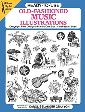 Ready-To-Use Old-Fashioned Music Illustrations 9780486263052