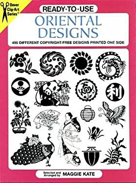 Ready-To-Use Oriental Designs: 495 Different Copyright-Free Designs Printed One Side 9780486402765
