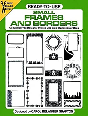 Ready-To-Use Small Frames and Borders 9780486243757