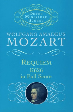 Requiem, K626, in Full Score 9780486401164