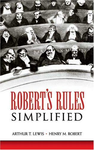 Robert's Rules Simplified 9780486450964