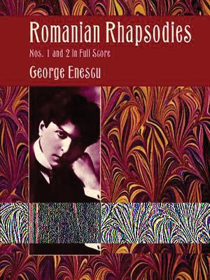 Romanian Rhapsodies Nos. 1 and 2 in Full Score 9780486408569