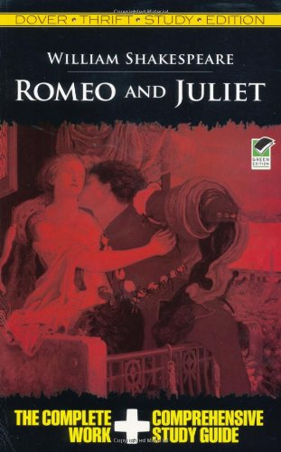 Romeo and Juliet Thrift Study Edition 9780486475738