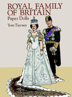 Royal Family of Britain Paper Dolls 9780486278230