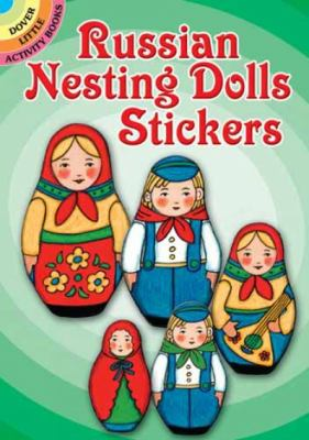 Russian Nesting Dolls Stickers 9780486472416