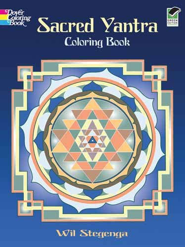 Sacred Yantra Coloring Book 9780486470818