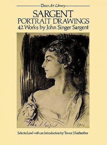 Sargent Portrait Drawings: 42 Works 9780486245249