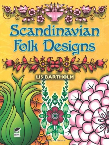 Scandinavian Folk Designs 9780486255781