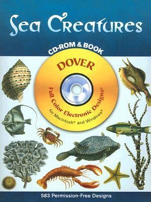 Sea Creatures [With CD-ROM] 9780486996660