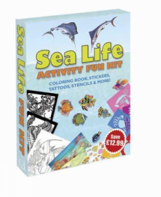 Sea Life Activity Fun Kit 9780486459080