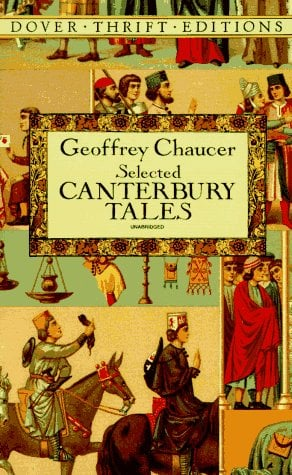 Selected Canterbury Tales 9780486282411