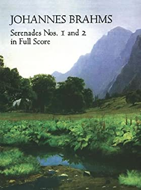 Serenades Nos. 1 and 2 in Full Score 9780486408545