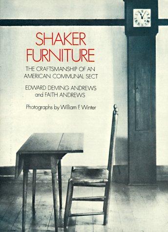Shaker Furniture 9780486206790