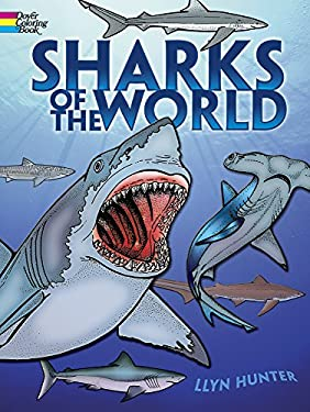 Sharks of the World Coloring Book 9780486261379
