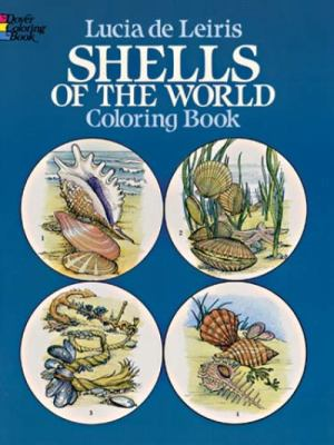 Shells of the World Coloring Book 9780486243689