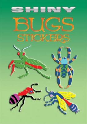 Shiny Bugs Stickers 9780486435398
