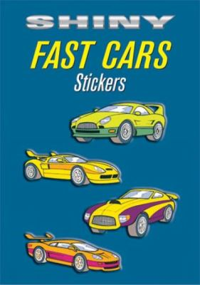 Shiny Fast Cars Stickers 9780486435350