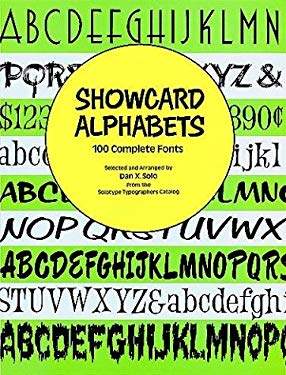 Showcard Alphabets: 100 Complete Fonts 9780486289762
