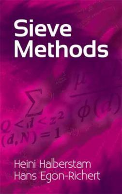 Sieve Methods 9780486479392