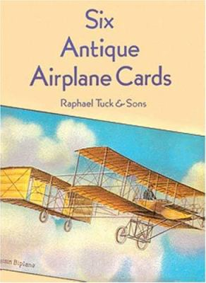 Six Antique Airplane Cards 9780486293219
