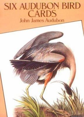 Six Audubon Bird Postcards 9780486276090
