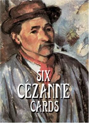 Six Cezanne Cards [With Art Cards] 9780486413457