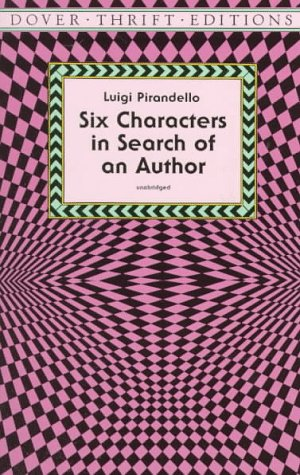 Six Characters in Search of an Author 9780486299921