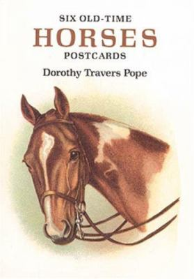 Six Old-Time Horses Postcards 9780486284224