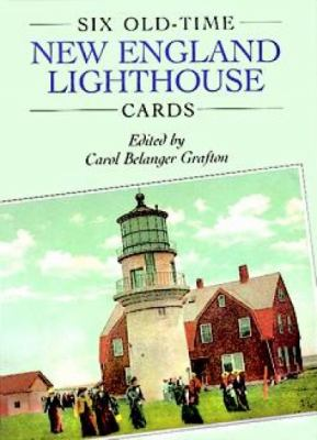 Six Old-Time New England Lighthouse Cards