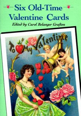 Six Old-Time Valentine Postcards 9780486264967