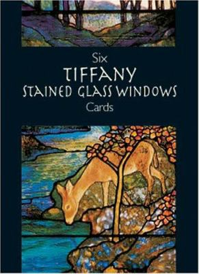 Six Tiffany Stained Glass Windows Cards [With Cards] 9780486413440