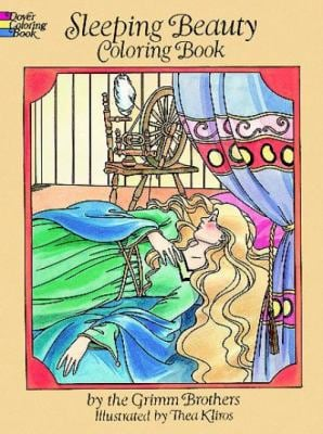 Sleeping Beauty Coloring Book 9780486273181