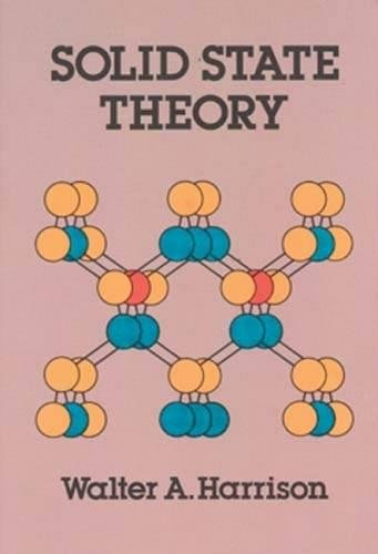 Solid State Theory 9780486639482
