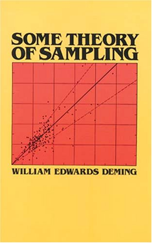 Some Theory of Sampling 9780486646848