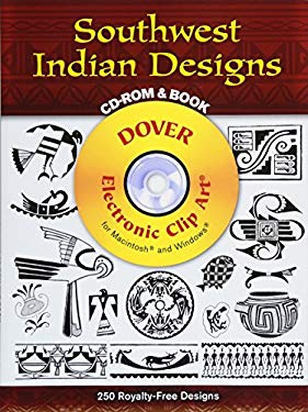Southwest Indian Designs CD-ROM and Book 9780486995328