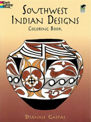Southwest Indian Designs Coloring Book 9780486430423