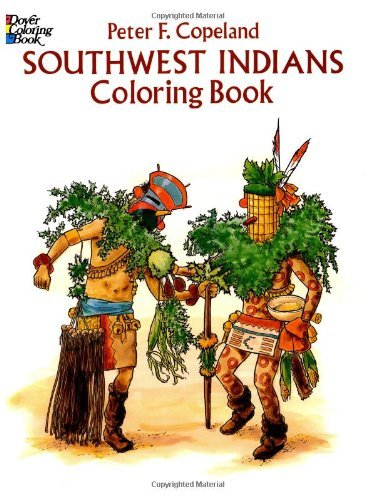 Southwest Indians Coloring Book 9780486279640