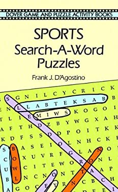 Sports Search-A-Word Puzzles 9780486293486