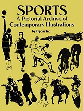 Sports: A Pictorial Archive of Contemporary Illustrations 9780486260105