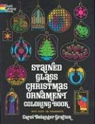 Stained Glass Christmas Ornament Coloring Book 9780486207070