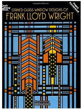 Stained Glass Window Designs of Frank Lloyd Wright 9780486295169