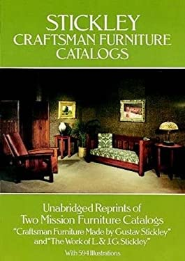 Stickley Craftsman Furniture Catalogs 9780486238388