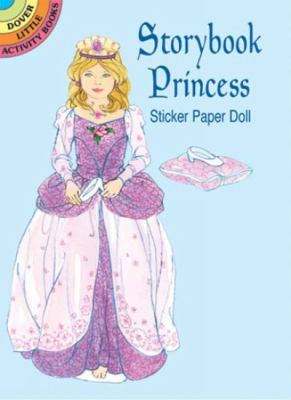 Storybook Princess Sticker Paper Doll 9780486437262