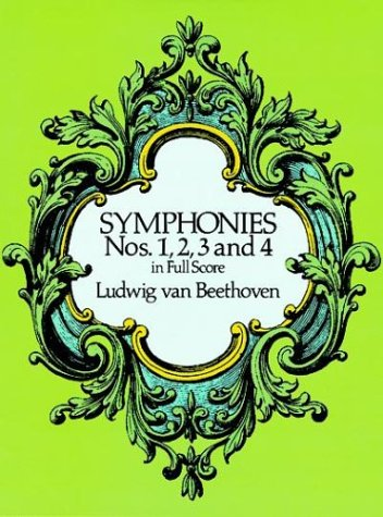 Symphonies Nos. 1, 2, 3 and 4 in Full Score 9780486260334